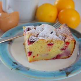 Lemon Raspberry Ricotta Cake slice web