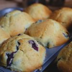 Blueberry Muffins in pan WEB