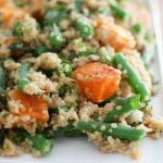 green bean squash quinoa bowl web