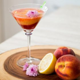 Peachy Keen Mocktail WEB