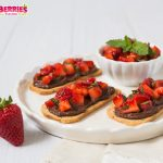 Strawberry Chocolate Bruschetta