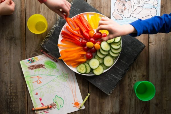 Healthy Snack plate for kids