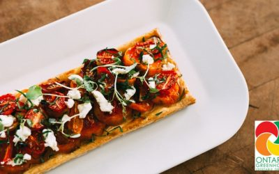 Cherry Tomato and Sweet Potato Galettes