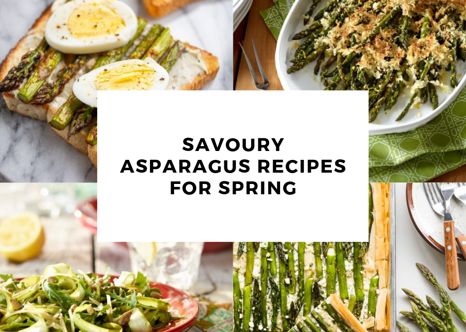Savoury Asparagus Recipes for Spring!