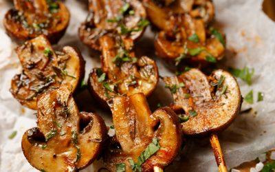 Ontario Mushroom Kabobs
