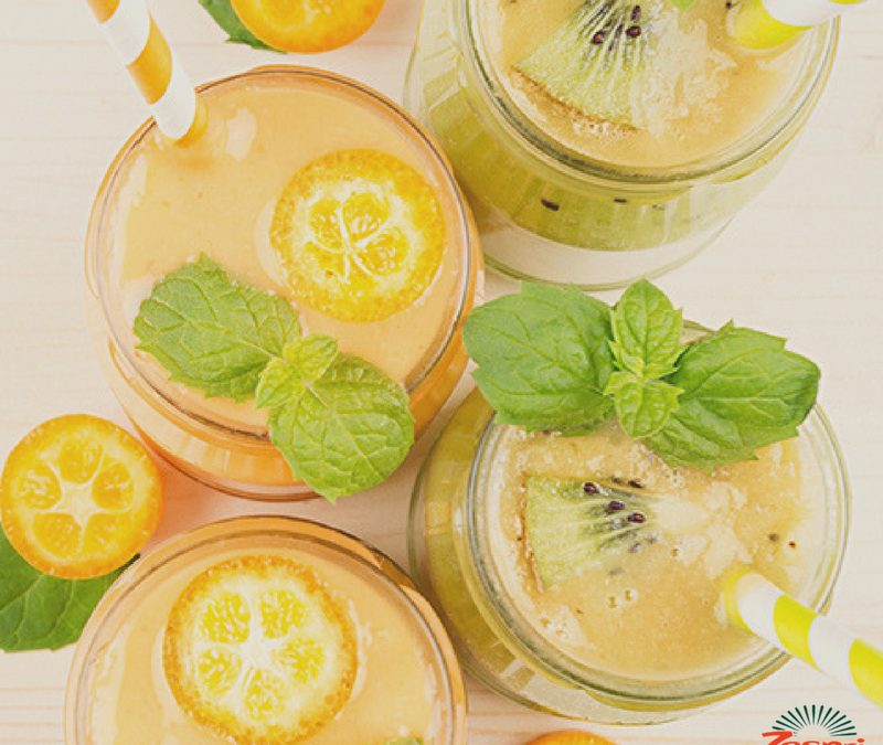 SunGold Summer Squash Smoothie