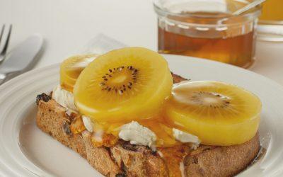 SunGold Kiwifruit Toast