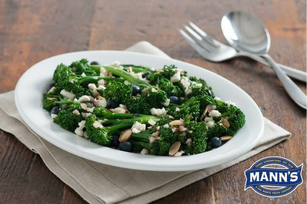 broccolini blueberry salad