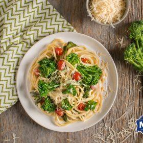 broccolini linguine manns.delmonte