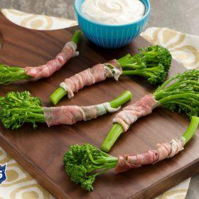 broccolini proscuitto manns.delmonte