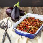 eggplant black bean casserole
