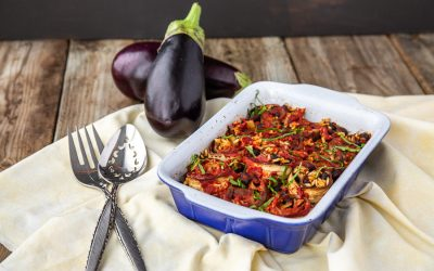 Eggplant and Black Bean Casserole