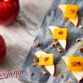 SweeTango Apple and Cheese Appetisers