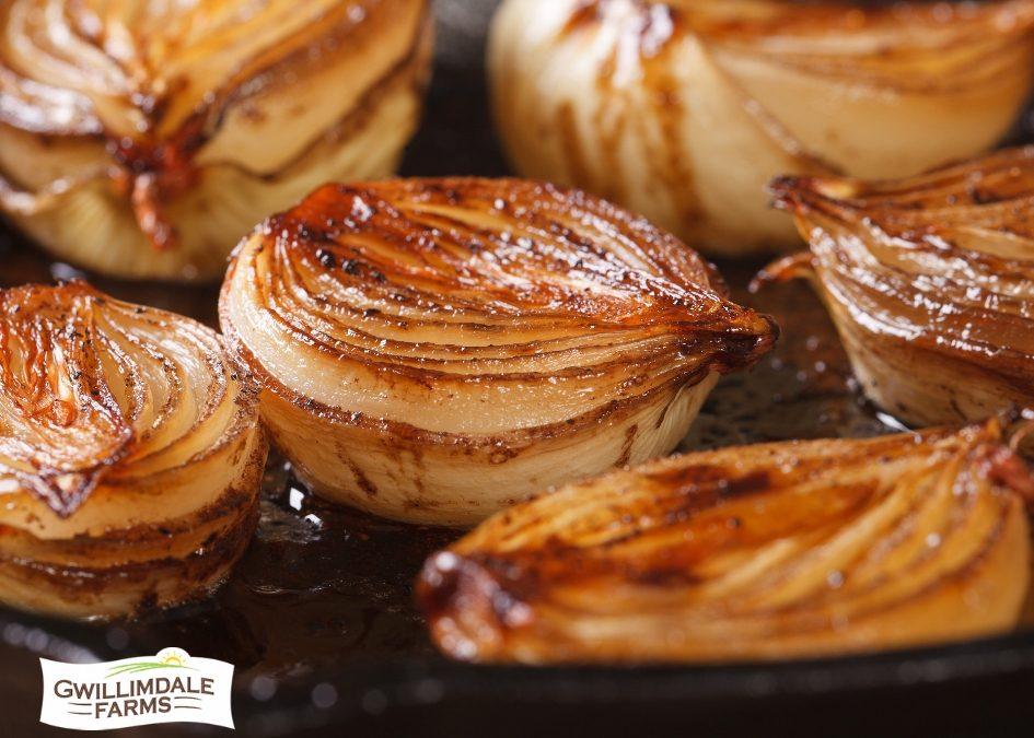 Caramelized Onion Halves
