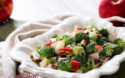 Vegan SweeTango Apple and Broccoli Salad