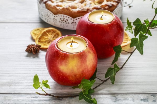 Apple Votive Candle