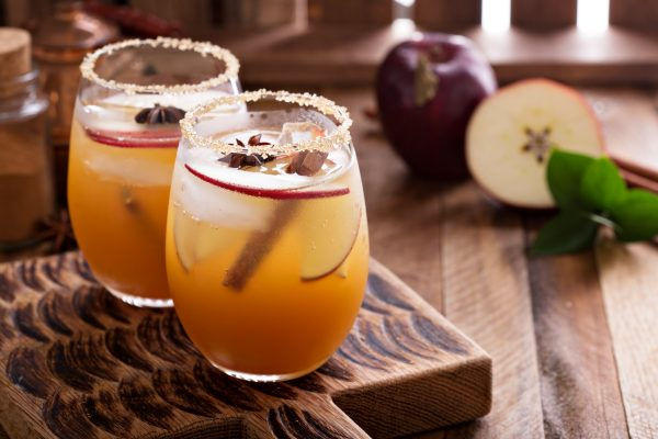 Apple Drink Garnish