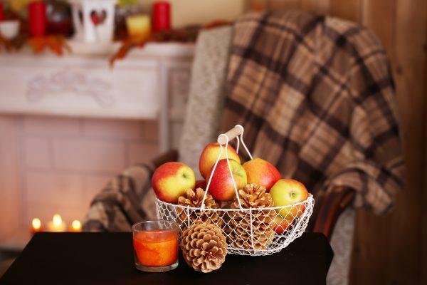 Apple Decoration Basket