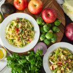 Brussels Sprouts and Cabbage Salad