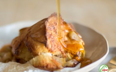 Pear Breakfast Popovers