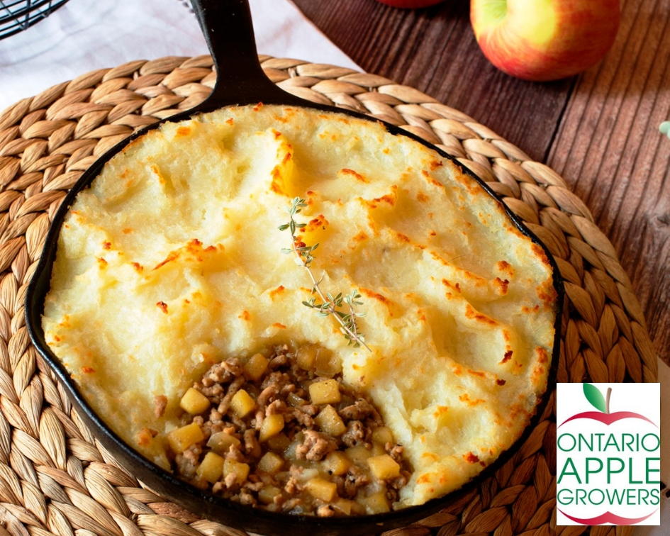 Sausage Apple Shepherd's Pie