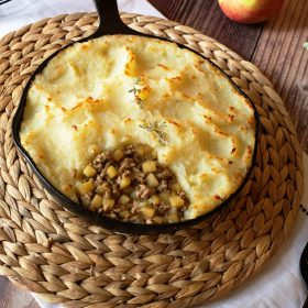 Apple and Sausage Shepherd's Pie