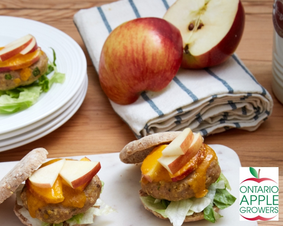 Turkey Apple Sliders