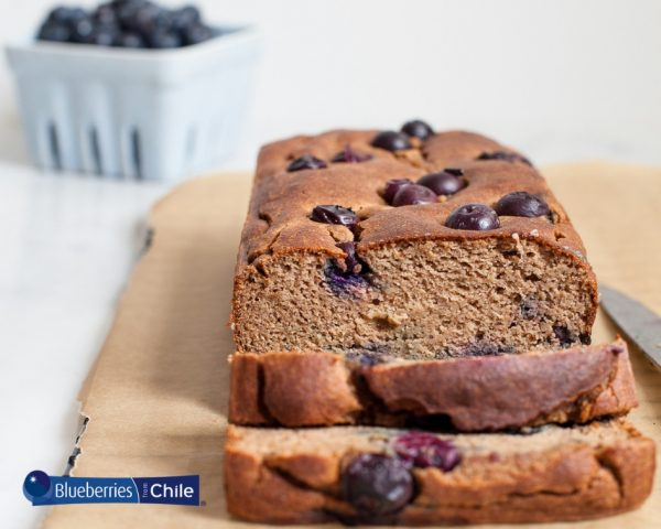 Gluten-Free Blueberry Banana Loaf