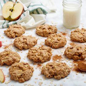 Soft Apple Pie Breakfast Cookies