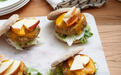 Cheddar Apple Turkey Sliders
