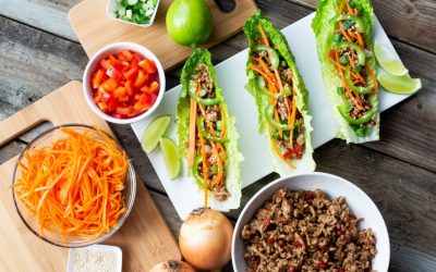 Hoisin Pork Lettuce Wraps