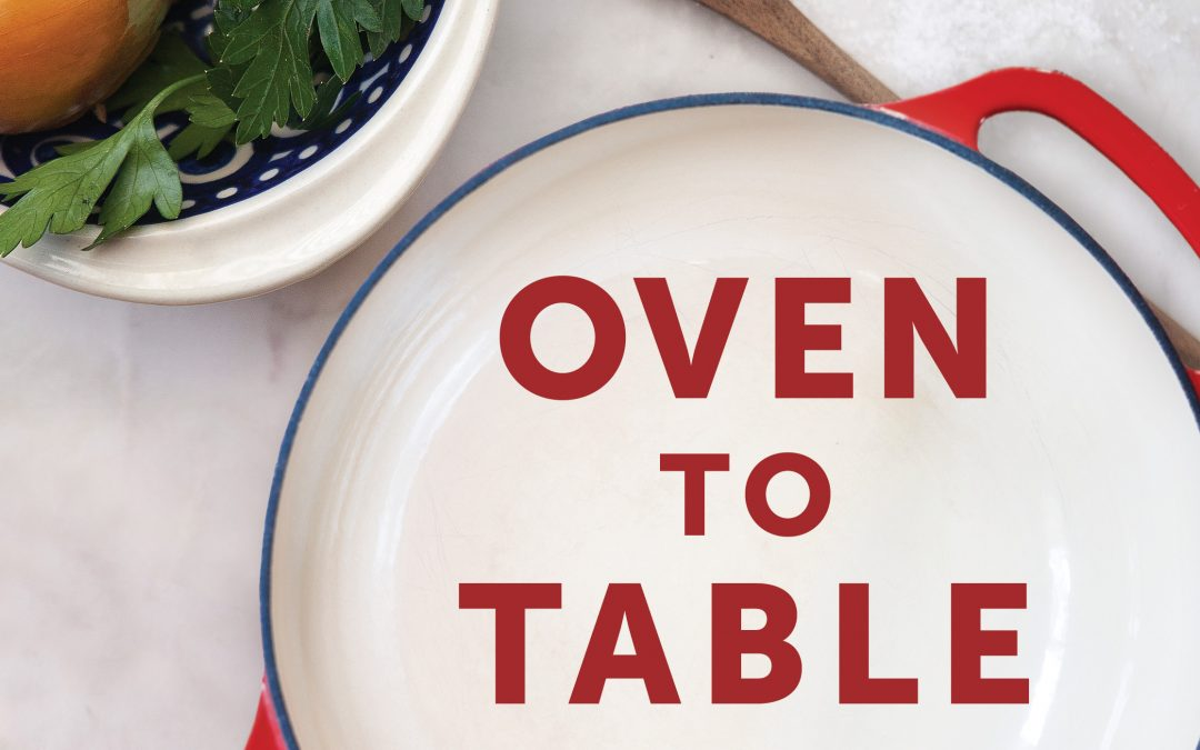 Oven to Table Cookbook Giveaway