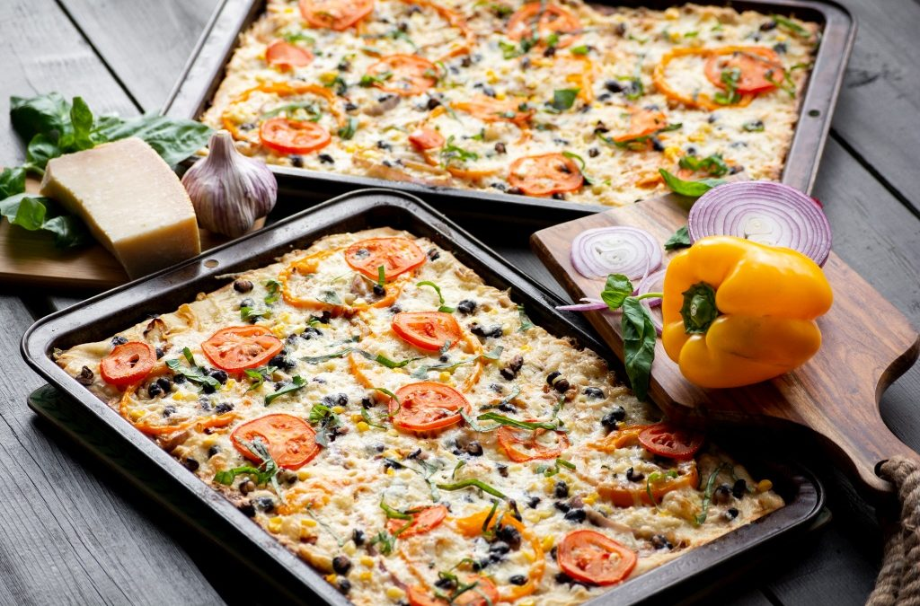Southwest Veggie Pizza