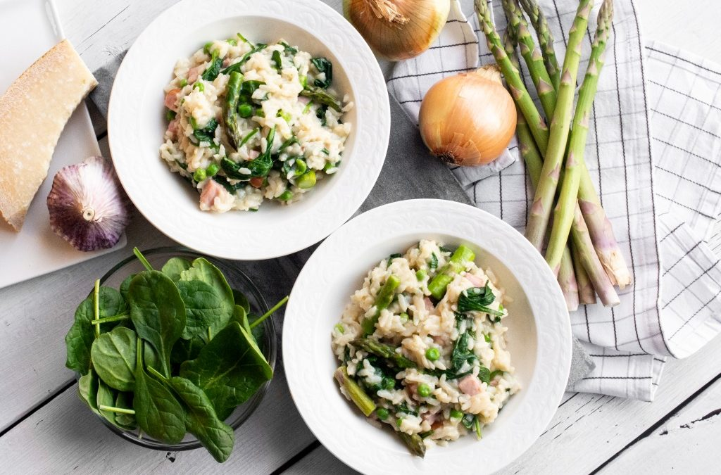 Spring Vegetable Risotto (Instant Pot)