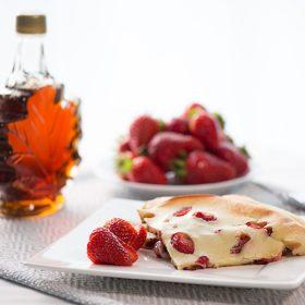 Strawberry Apple Pancakes