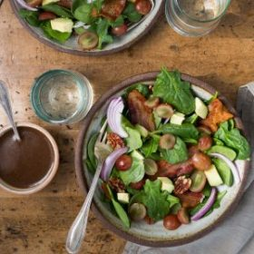 Bacon, Grape and Avocado Salad
