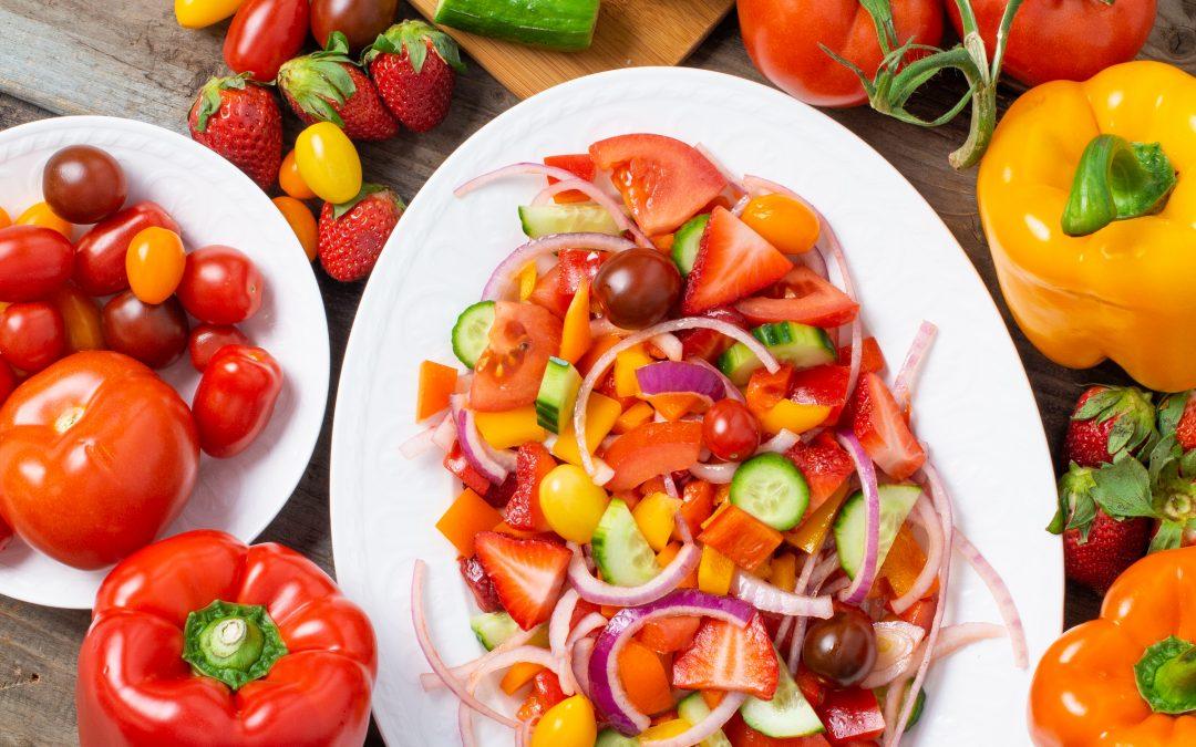 Easy Ontario Greenhouse Panzanella Salad
