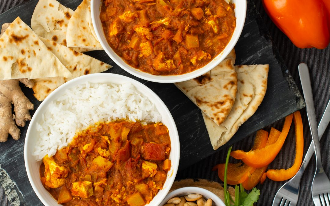 Ontario Greenhouse Fresh Vegetable Curry (Instant Pot)