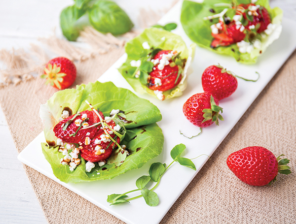 Living Cube Lettuce Wraps