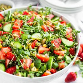 Taste of summer salad