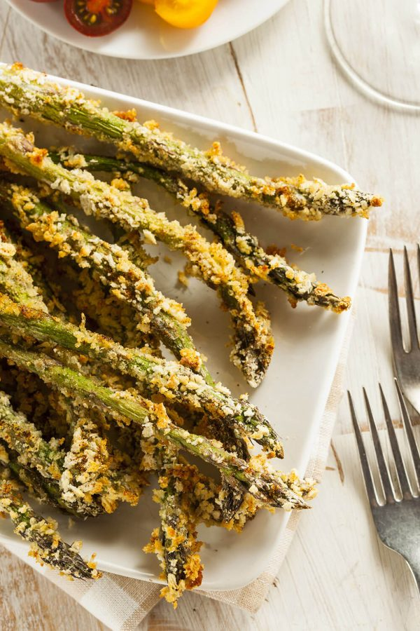 Asparagus Spears with Dip