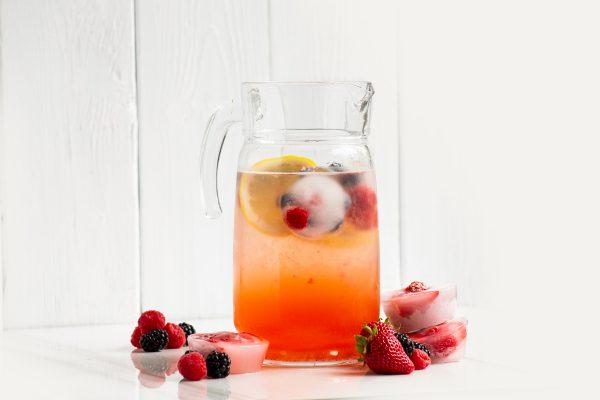 strawberry shrub syrup