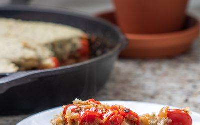 Tomato Cobbler (Vegan)