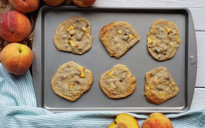 Peach Chocolate Chip Cookies