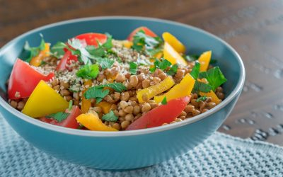 Bell Pepper Protein Bowl