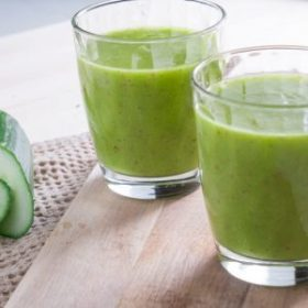 Hydrating Cucumber Mango Smoothie