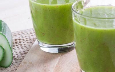 Hydrating Cucumber Mango Smoothie
