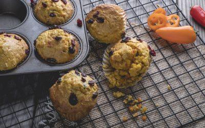 Mini Sweet Pepper and Orange Cranberry Muffins