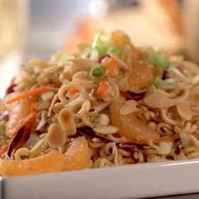 Mandarin Orange Ramen Noodle Salad