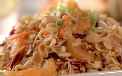 Mandarin Orange Ramen Noodle Salad